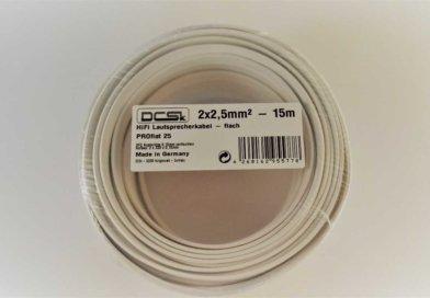 Test: DCSk PROflat Lautsprecherkabel