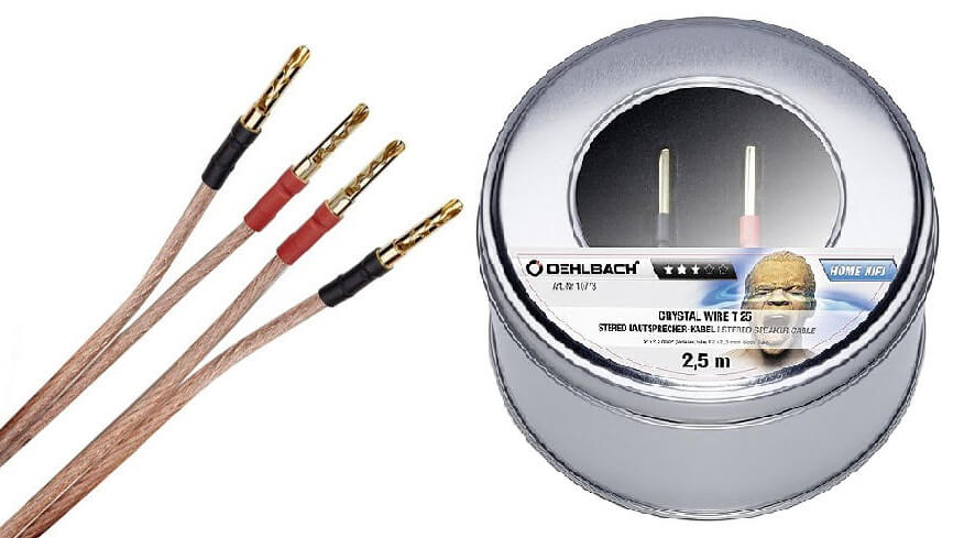 Oehlbach Crystal Wire T25 Lautsprecherkabel